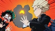 Katsuki Burns Izuku's Notebook (Anime)