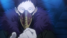Overhaul advises the League of Villains to join him
