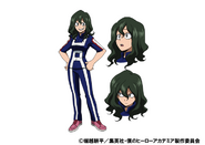 Setsuna Tokage TV Animation Design Sheet