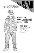 Volume 21 Manga Fukidashi Profile