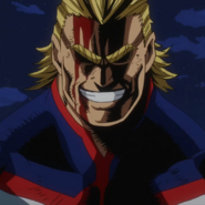 All Might Two Heroes Portrait