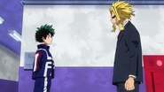 Izuku and All Might
