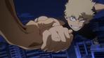 Katsuki escapa de los villanos