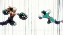 Izuku And Katsuki Clash