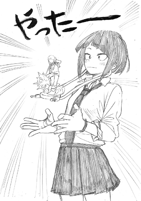 Kyoka Jiro Figure Reveal Sketch