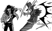 Overhaul destroys Mr. Compress left arm