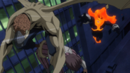 Endeavor pursues Nomu