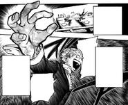 Neito Monoma tries to copy Izuku's Quirk