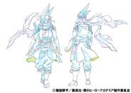 Shinya Kamihara Shading TV Animation Design Sheet