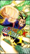 All Might Skill Character Art 11 Smash Rising