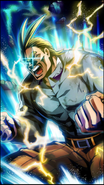 All Might Skill Character Art 12 Smash Rising