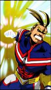 All Might Skill Character Art 8 Smash Rising