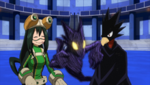 Fumikage and Tsuyu pass