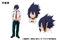 Tamaki Amajiki TV Animation Design Sheet