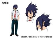 Tamaki Amajiki TV Animation Design Sheet