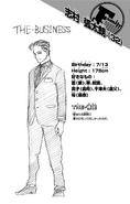 Volume 25 Kotaro Shimura Profile