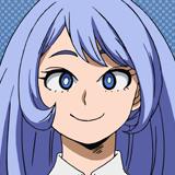 Nejire Hado Anime Portrait