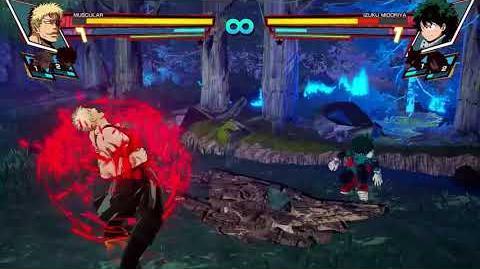 My Hero Academia One's Justice - Muscular vs Deku Gameplay Teaser (HD)
