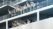 Class 1-A bidding farewell