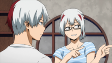 Shoto and his sister