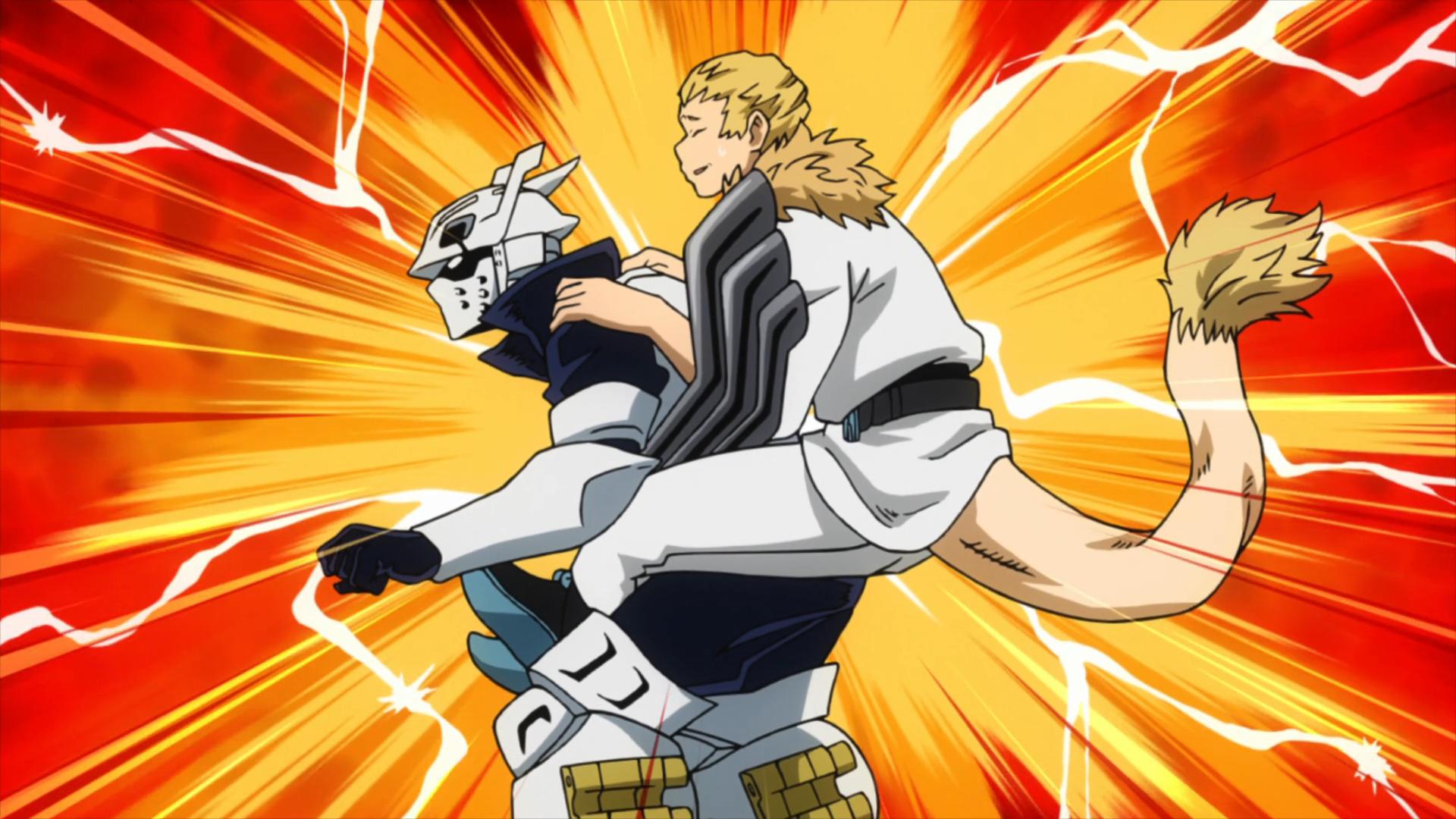 Tenya Iida & Mashirao Ojiro vs  Higari Maijima | My Hero