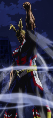 All Might is victorious