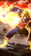 All Might Character Art 12 Smash Tap