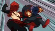 Eijiro punches Seiji