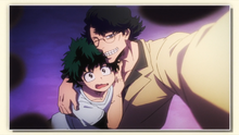 Izuku and Taneo's selfie