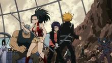 Momo Denki and Kyouka vs villains-0
