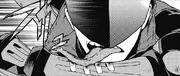 Stendhal licks the bandages