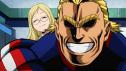 All Might and Melissa surprise David