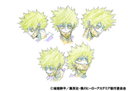 Dabi Anime Concept Art
