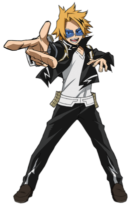Denki Kaminari 2nd Hero Costume Action