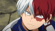 Shoto Todoroki annoyed with Inasa