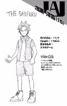 Volume 10 Yosetsu Awase Profile