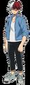 Shoto Todoroki casual Anime