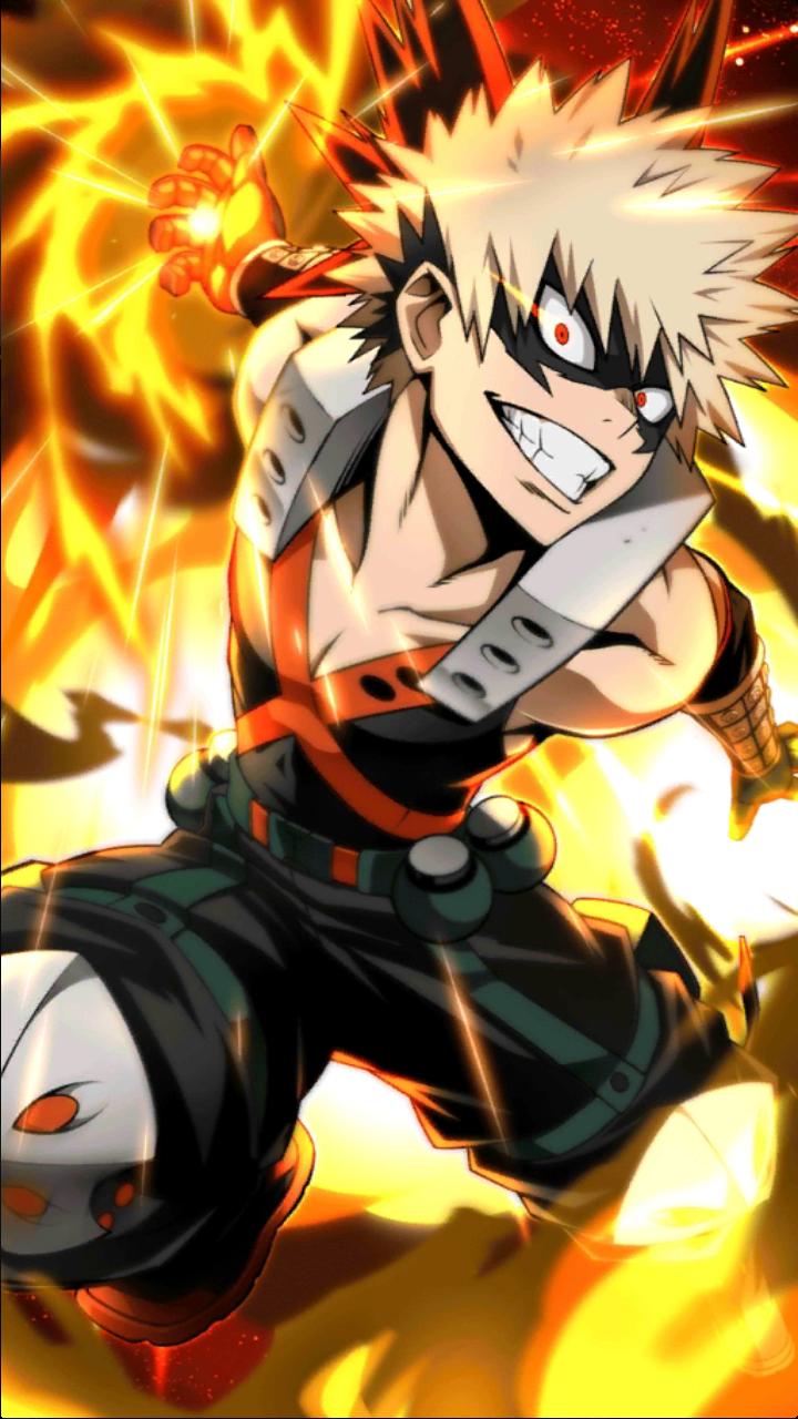 Katsuki Bakugo Character Art 3 Smash Tap