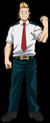 Mirio Togata Anime