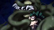 Sludge Villian attacks Izuku