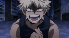 Katsuki Bakugo blames himself for All Might's end