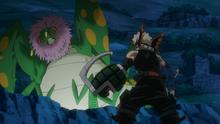 Katsuki faces a giant praying mantis