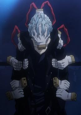 Tomura Shigaraki villano 2.0 anime