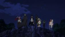 Escuadrón de Acción de Vanguardia en el Anime