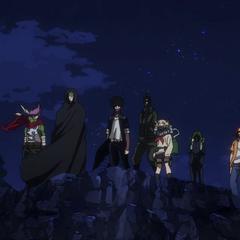 Himiko en el equipo de <a href=
