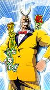 All Might Upgrade Character Art 7 Smash Rising