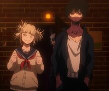 Dabi y Toga anime
