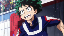 Izuku wins obstacle race