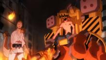 Power Loader saves Mashirao
