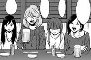 Rin, Hina, Kaori and Kazuha